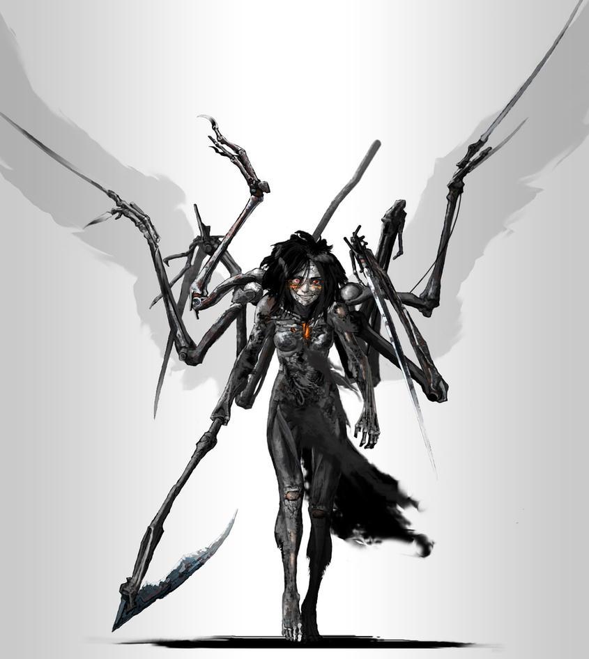 Fallen angel v2 by Monopteryx