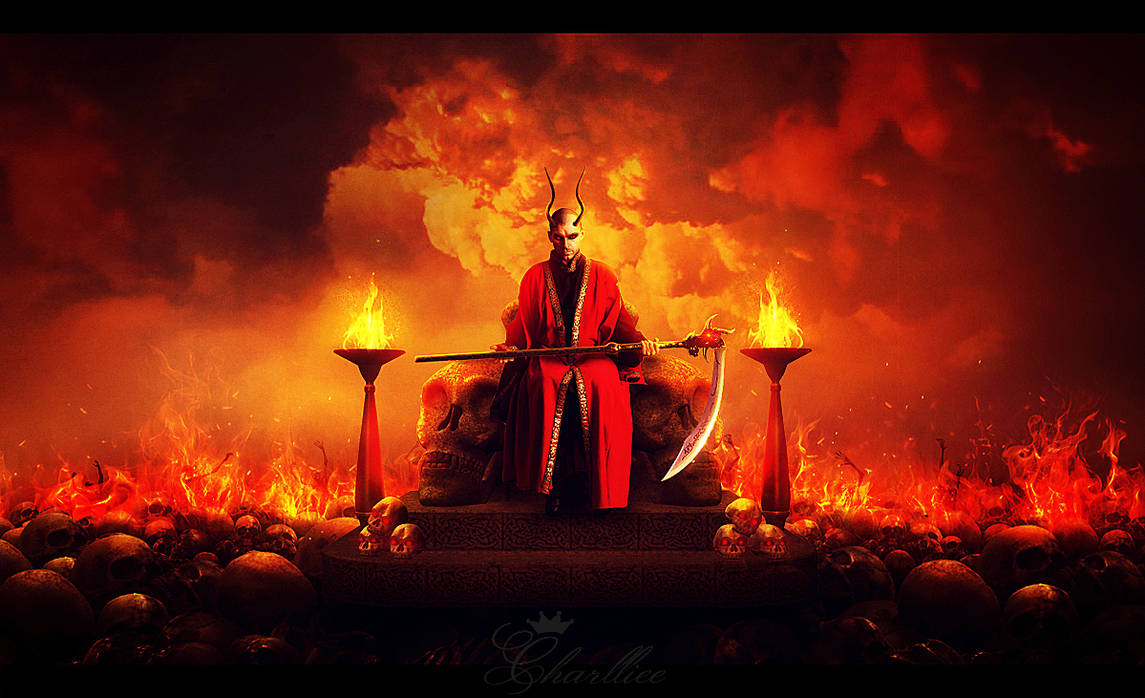 King of the evil by CharllieeArts