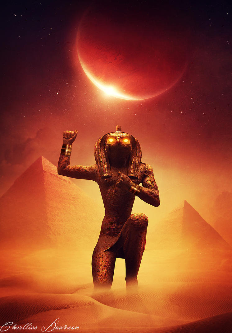 Horus. by CharllieeArts