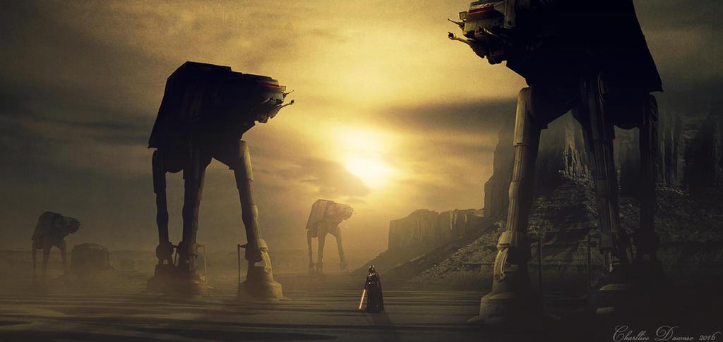 Star Wars by CharllieeArts