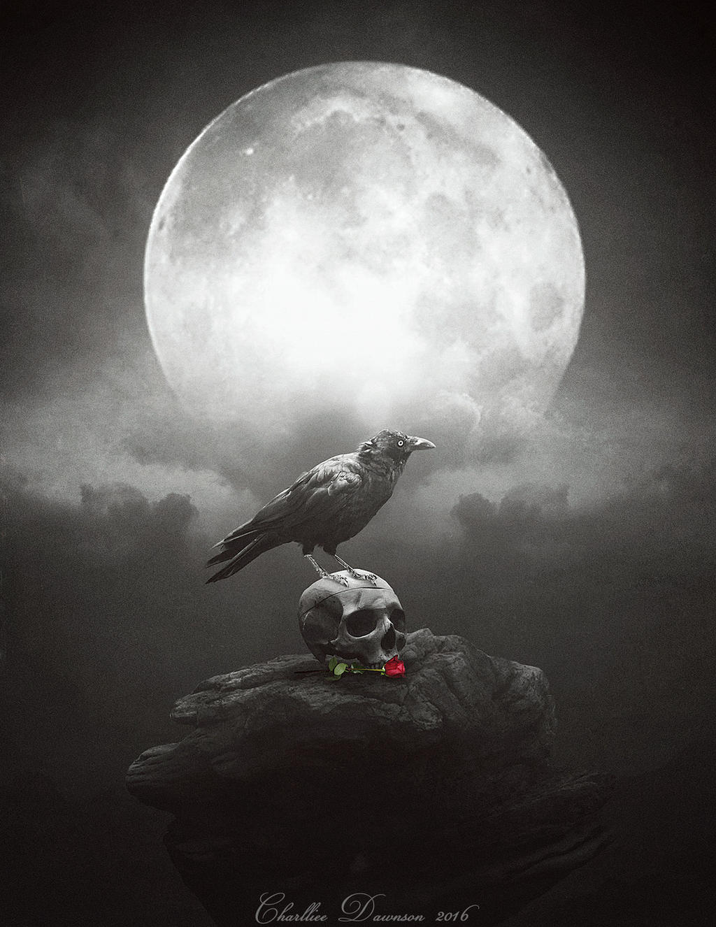 Dark Crow Art | www.imgkid.com - The Image Kid Has It!