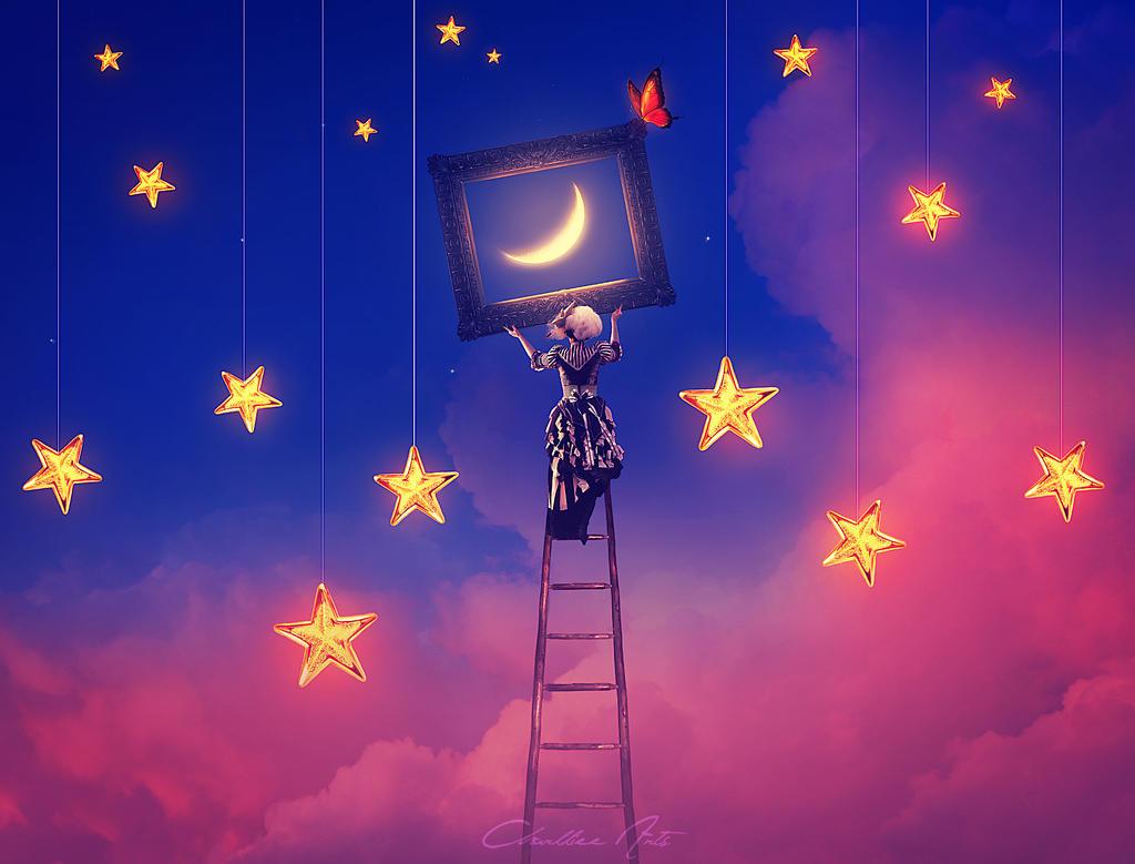 Decorating my sky
