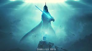 Light Vs Darkness by CharllieeArts
