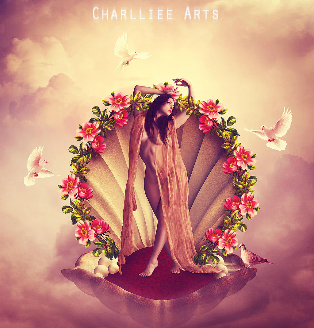 Aphrodite by CharllieeArts on DeviantArt