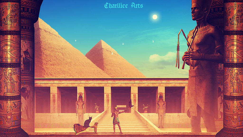 Ramses by CharllieeArts