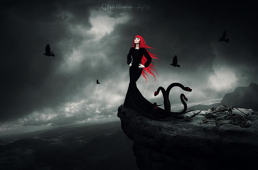 Morgana by CharllieeArts