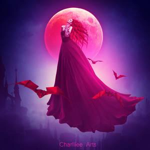 Sweet vampire by CharllieeArts