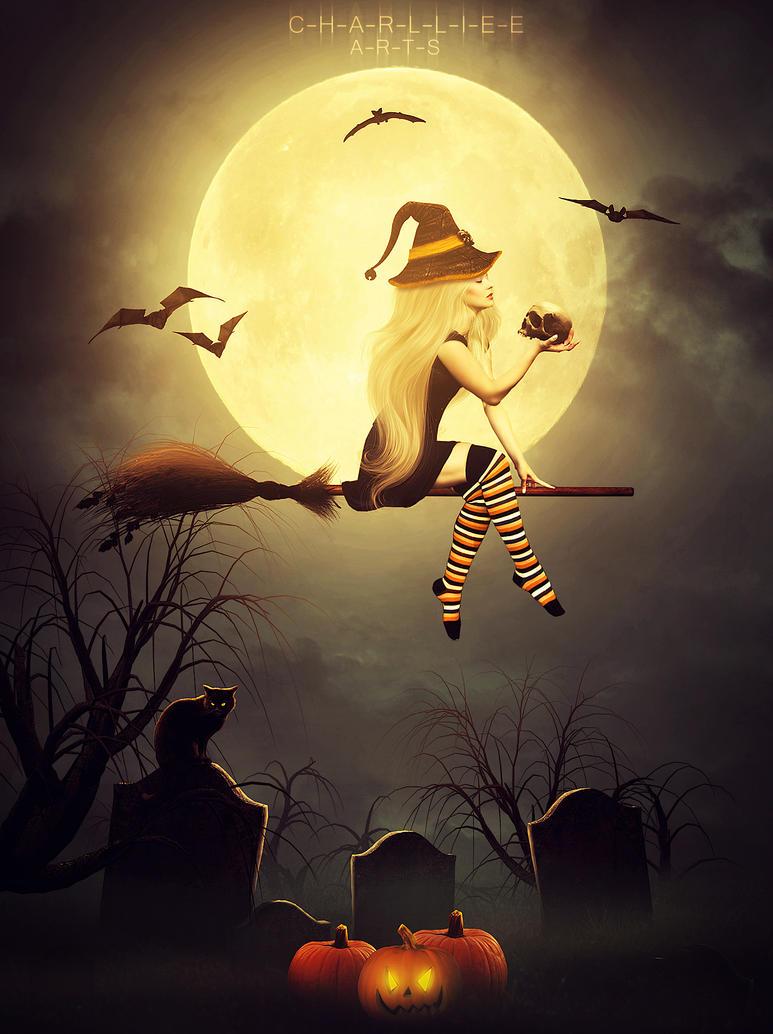 Happy Halloween by CharllieeArts
