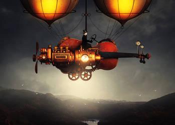 Steampunk - The traveller