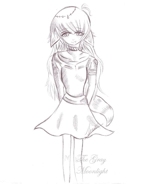 Fox Fairy 'Sketch' by TheGrayMoonLight