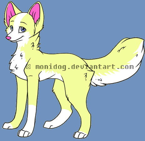 Hazelnut the Wolf by poisonraven5