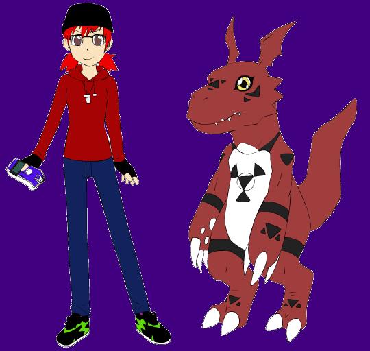 Digimon: Amal Kurona by poisonraven5