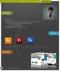 My CV by Jazzoline