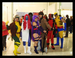 Xmen cosplay group by piratadandi