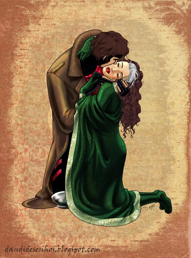The Kiss by piratadandi