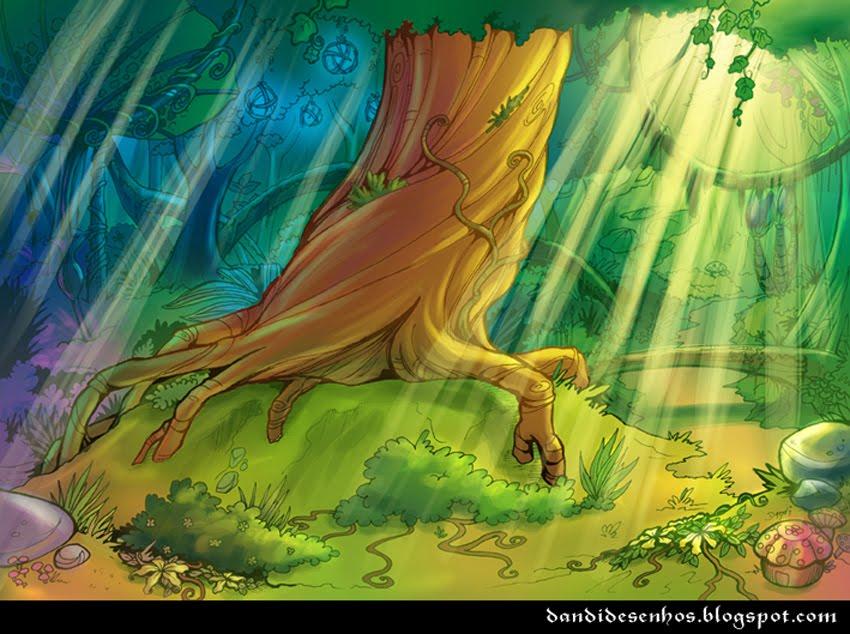 Magic forest by piratadandi