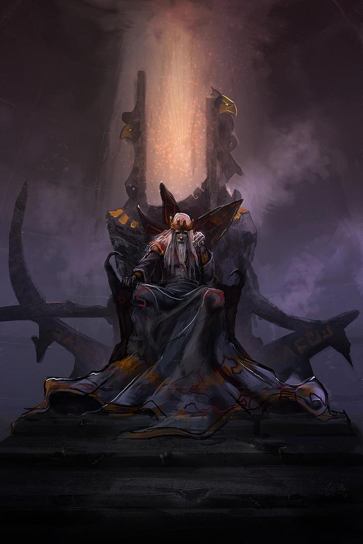 Griefshield throne chamber by eWKn on DeviantArt