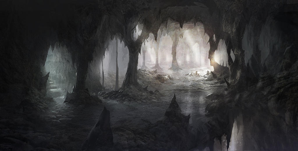 A Dark Cave Cave_by_ewkn