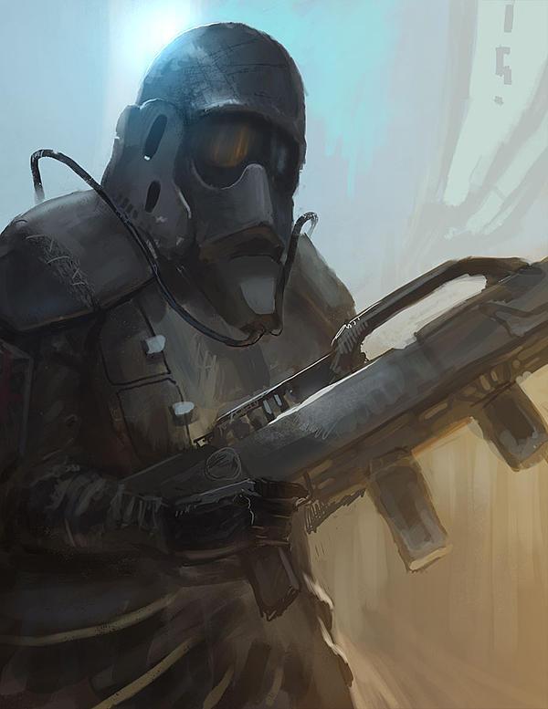 Trooper by eWKn