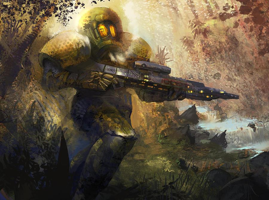 Gunman jim by eWKn