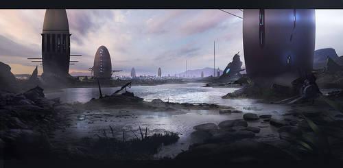 Unknown civilization by eWKn