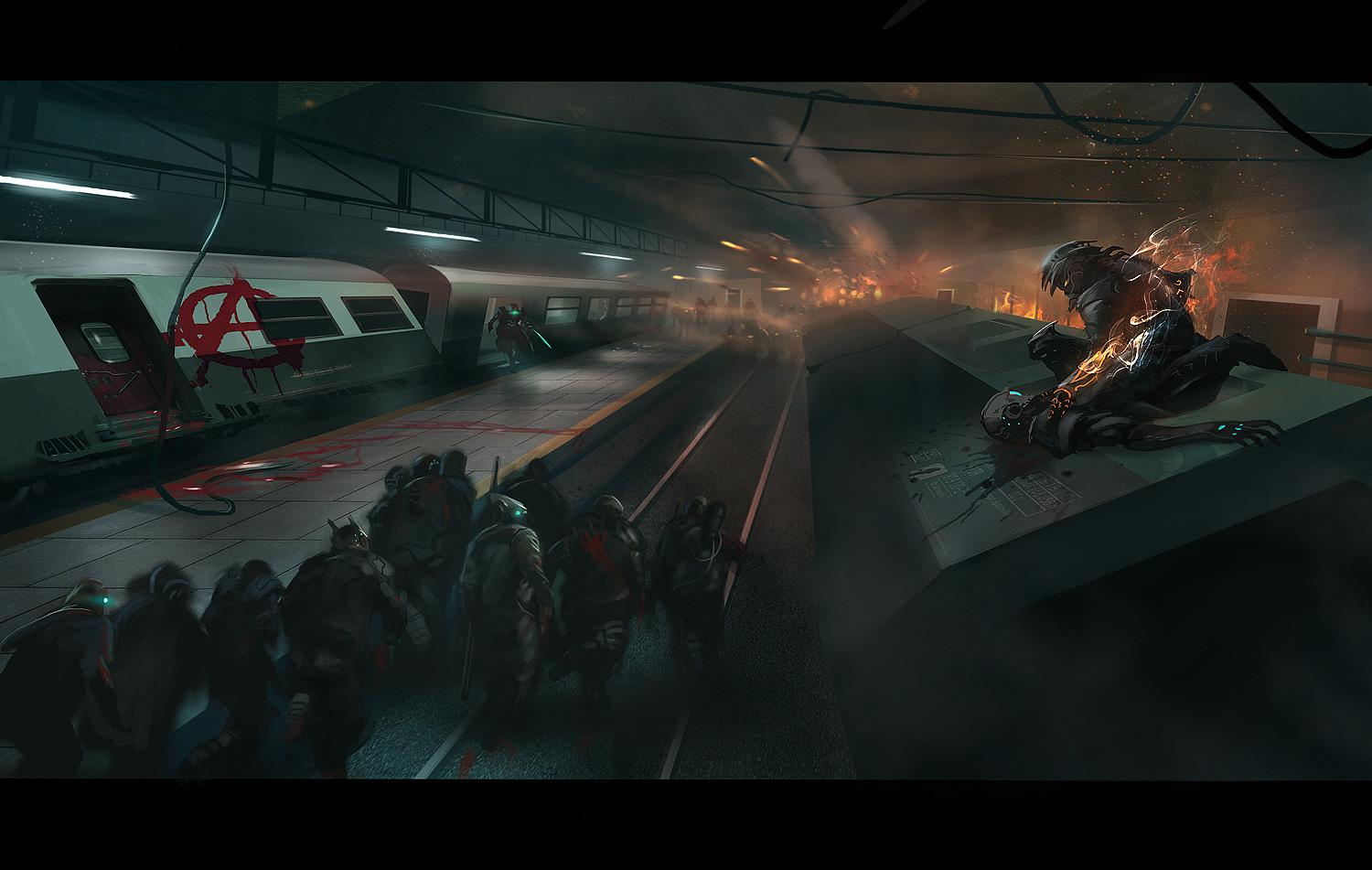 Metro Showdown by eWKn