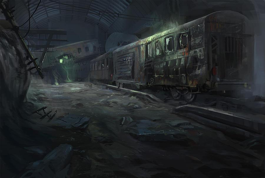 Ze Train by eWKn