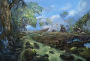 Wind Forest by eWKn