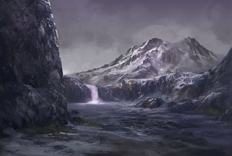 Mountain Arena by eWKn