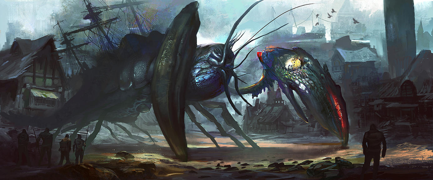 Crustacean King by eWKn