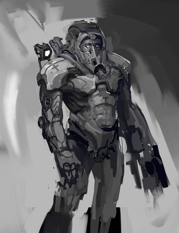 speedpaint sketch bla by eWKn