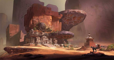 Temple for cgma by eWKn