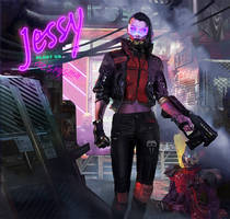 Jessy the street muscle