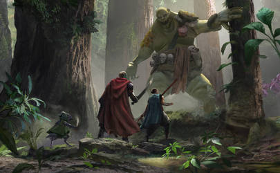 Swamp Troll by eWKn