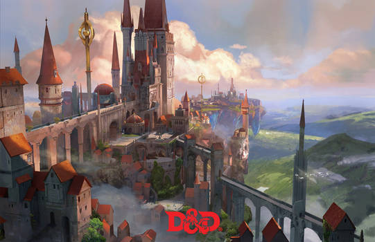 The Floating City Dungeons and dragons
