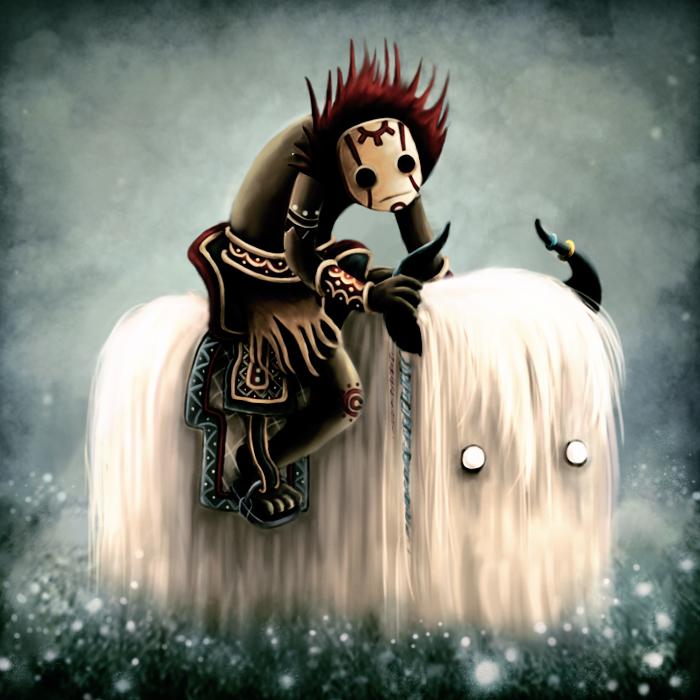 Tiki Rider by spongejen