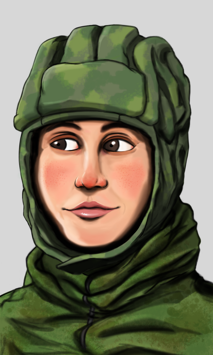 Female Paratrooper by Ralvesp