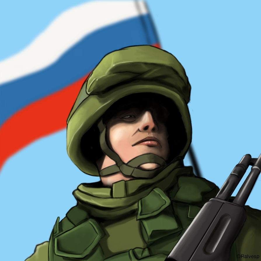 Russian Soldier by Ralvesp