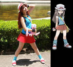 Cosplay Blue  Pokemon Special