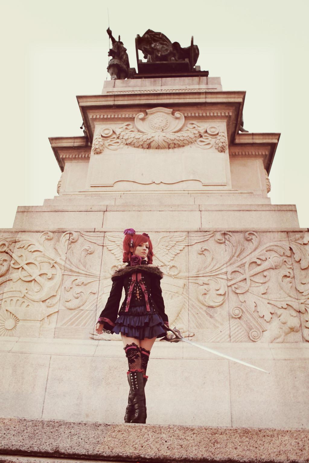 Soul Calibur IV - Amy Sorel by MishiroMirage