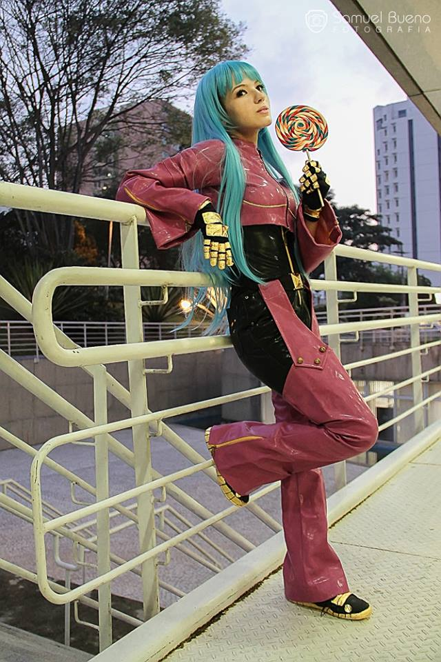 Kula Diamond - KoF Cosplay by MishiroMirage