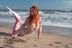 Redhead mermaid by ThamySorel