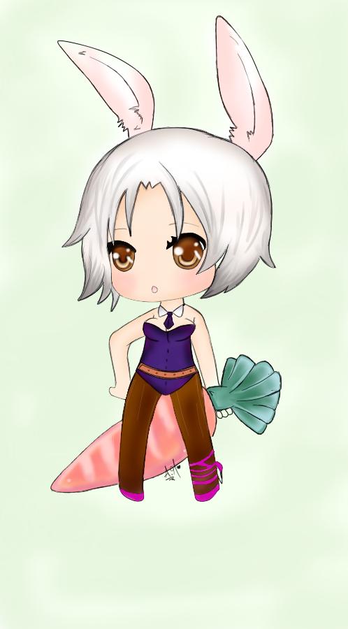 Battle Bunny Riven by Sakurita06 on DeviantArtBunny Riven Fan Art