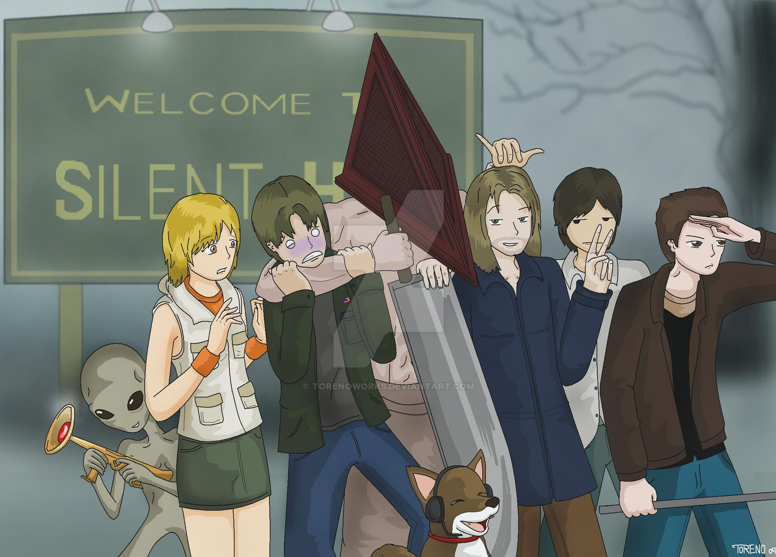 Welcome to Silent Hill by TorenoWorks
