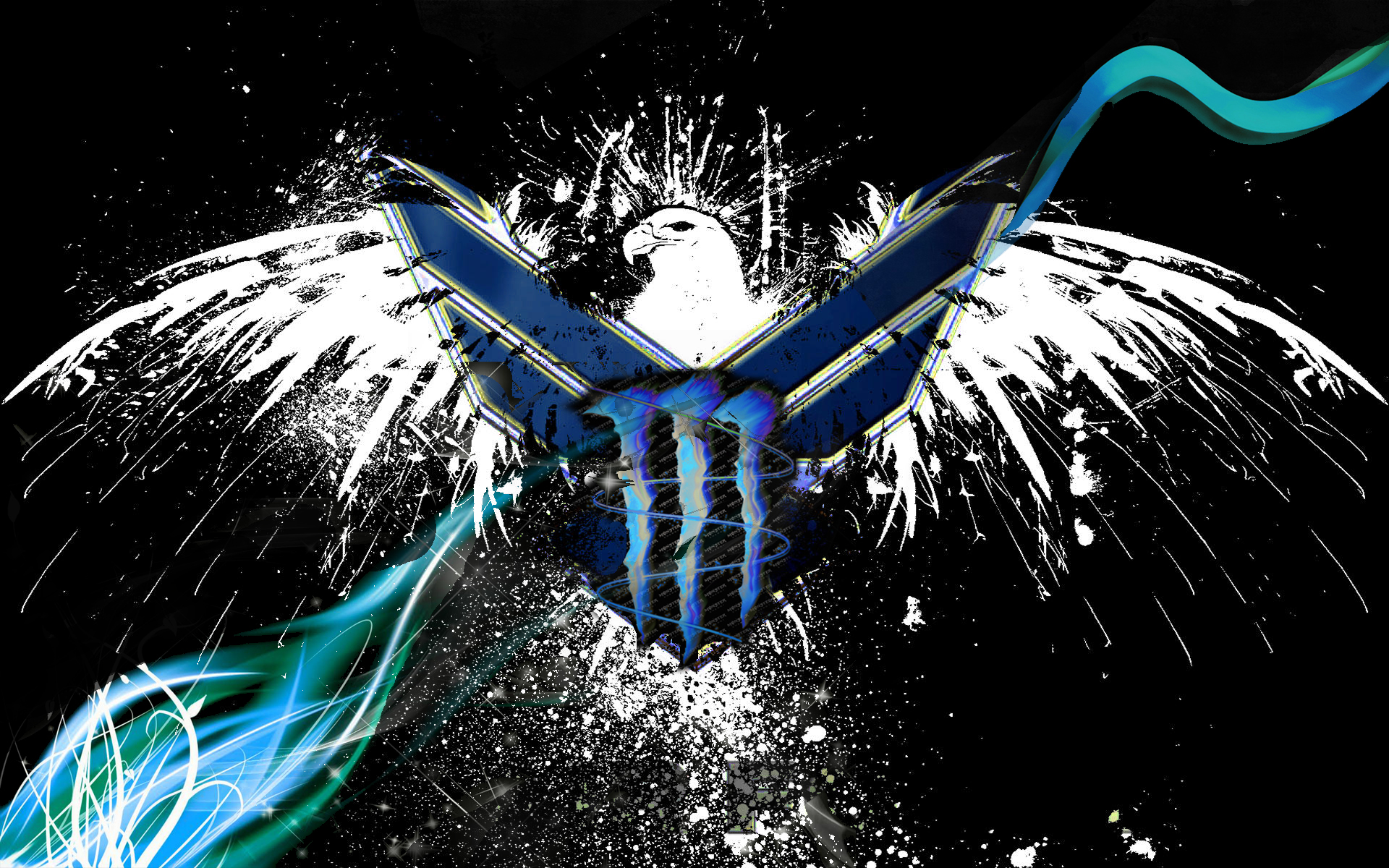 military logo with monster energy mixup by grt101 on
