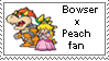 BowserxPeach Stamp by SuperMarioFan