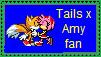 TailsxAmy Fan by SuperMarioFan