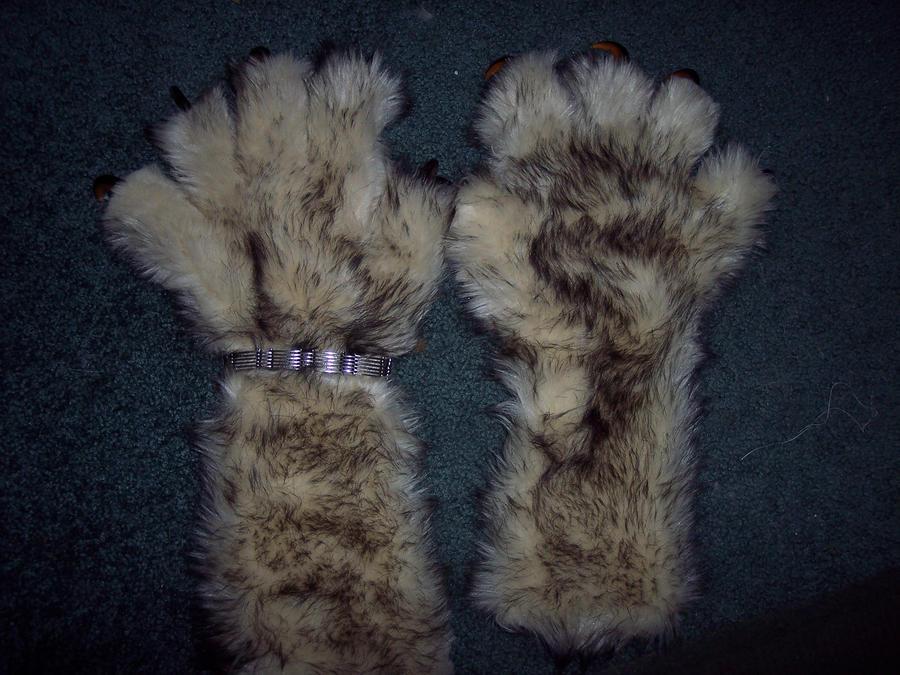 Paw glove update. by Zechira