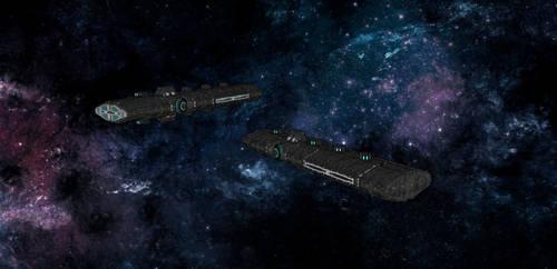 Legion cruisers on standby