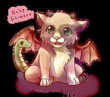 Myth Creature Babies - Chimera by lalaliluleloha